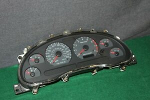 99 00 01 02 03 04 Ford Mustang Gt 150mph Instrument Gauge Cluster Speedometer