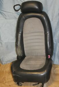 99 01 03 04 Ford Mustang Cobra Passenger Seat Leather Suede 1999 2001 2003 2004