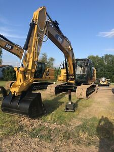 Caterpillar Excavator 2018 320fl Aux Hydros quick Coupler like New Loaded 661hr