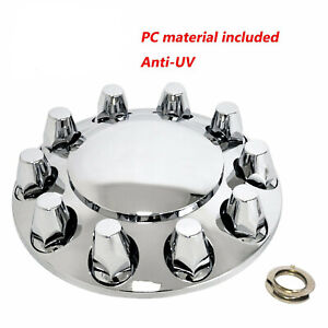 Brand New Front Axle Dome Cover Set new 33 Mm Thread on