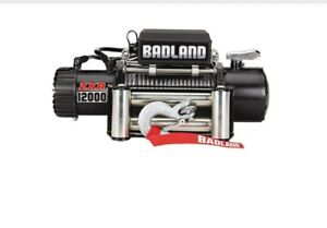 Badland Winch 12000 Lb Off Road Vehicle Winch Local Pick Up Only In California