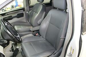 2011 12 13 14 Volkswagen Vw Routan Driver Left Electric Gray Leather Front Seat