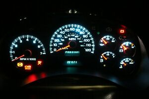 02 05 Chevy Trailblazer led Instrument Gauge Cluster 15241707 rebuilt 221k