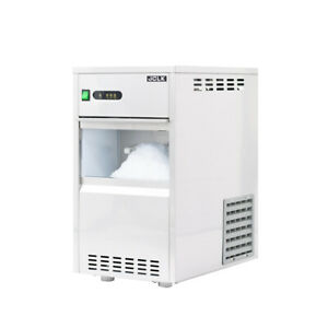 13 In Air Cooled Commercial Stainless Steel Flake Ice Maker 44lb