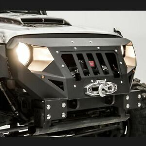 Jeep Jk Grumper Style Winch Bumpers For 07 18 Jeep Wrangler Front Bumper