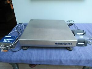 Mettler Toledo Panther Digital Scale Pthk 1000 100kg With Mettler 8857 Printer