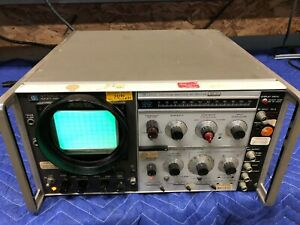Hp 141t Display With 8553l 8552a Spectrum Analyzer If rf Sections