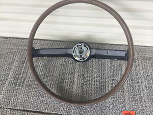 1968 Ford Mustang Steering Wheel W o Pad Shelby Gt350 Gt500 Deluxe 68 2086