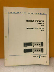 Hp 08443 90028 8443a 8443b Tracking Generator Counter Op service Manual