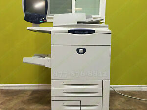 Xerox Docucolor 242 Press Laser Commercial Production Print Copy Scan 55ppm 252