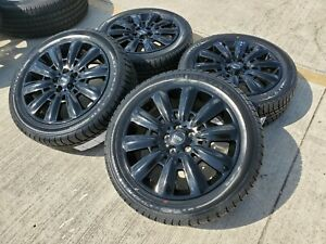 18 Mini Cooper Black Oem Wheels Rims Tires 86401 2015 2016 2017 2018 2019 2020