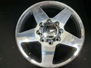 2017 2018 2019 Chevy 2500 3500 20 Polished Oem Factory Wheel With Cap 5805