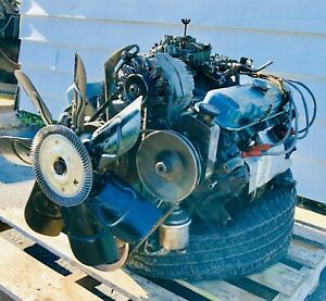 1975 Pontiac 455 Engine Complete And Running Can Ship No Problem