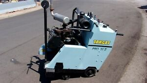 Target Pro 30 Walk Behind Concrete Saw Very Nice Condition
