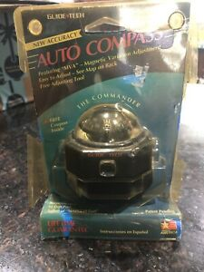 New Vintage Auto Compass By Guide Tech The Commander Model 2110 S
