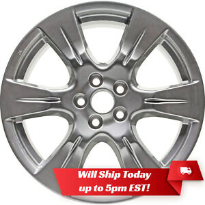 New 19 Replacement Hyper Silver Alloy Wheel Rim For 2011 2019 Toyota Sienna Se