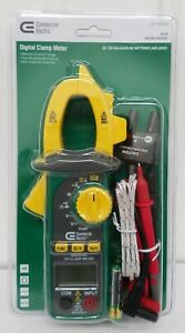 Commercial Electric 600 Amp Ac Digital Clamp Meter Lcd Batteries Included New