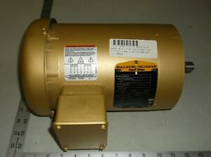 Baldor Vem3546 1hp 3ph 1440 Rpm Tefc Electric Motor