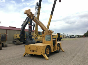 Grove Ind24 Crane Hours 349 Year 1981 Capacity 6 Tons