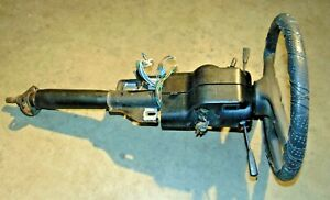 1977 80 Mgb Upper Steering Column Assembly With Wheel Switches key cowl Nice Mv