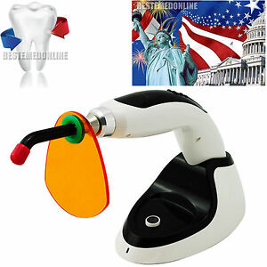 Wireless 10w Dental Led Curing Light Lamp 2000mw Teethwhitening Accelerator usa