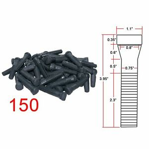 Set Of 150 Pcs Heavy Duty Durable Rubber Chicken Plucker Plucking Fingers New