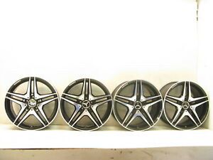 18 Mercedes W215 Cl55 Cl63 Cl500 Cl600 Staggered Wheels Rim Rims Amg Replica