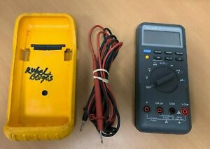 Fluke 87 True Rms Industrial Multimeter W Cables Tested Works