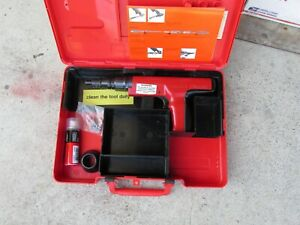 Hilti Dx 350 Powder Actuated Fastener Gun Case And Extras Mint 835