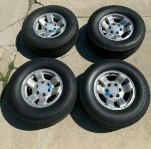 Bf Goodrich 265 70 R16 Long Trail And 1 Dunlop Tg35 And Alloy Wheels