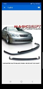 98 05 Lexus Gs 300 Polyurthane Vip Tte Style Front Lip New Painted