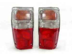 Depo 1984 1988 Toyota Pick Up Truck 2wd 4wd Model Red clear Tail Light Set