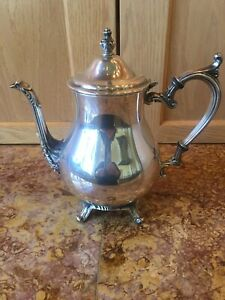 Fb Rogers Vintage Silver Plate Coffee Teapot