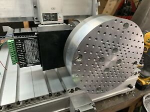 Cnc Rotary Indexing 4th Axis 7 375 In Tilting 60 1 With Arduino Control