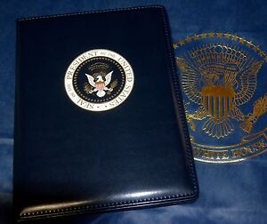 Official Presidential Seal Full size Portfolio Color Seal white House Issue