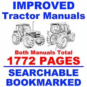 Ford New Holland 5640 6640 7740 7840 8240 8340 Factory Service Shop 2 Manuals