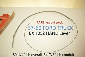 1957 1958 1959 1060 Ford Truck Lisle Bx 1052 Emergency Parking Brake Cable Nors