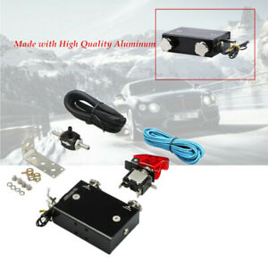 Dual Stage Electronic Turbo Boost Controller Psi Turbocharger Aluminum Switch