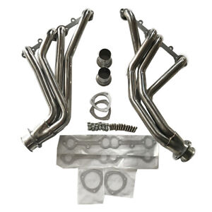 For 84 91 Gmt C K 5 0l 5 7l V8 Sbc Ss Racing Manifold Long Tube Header Exhaust