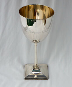 315gm Pekingese Club Yohyang Cup 1925 Rare Sterling Silver Toy Dog Show Trophy