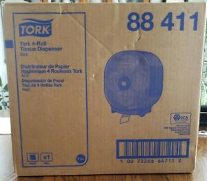 Tork 4 roll Toilet Paper Tissue Dispenser New In Box
