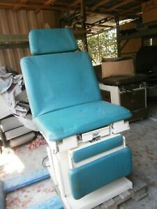 Hamilton 1k3 Electric Patient Procedure Exam Chair Obgyn Table