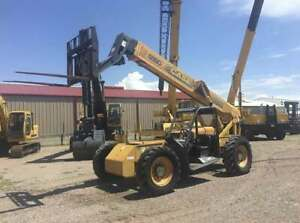 Case Type 688g Forklift Telescopic Capacity 8 000 Lbs Hours 3 206 Year 2000