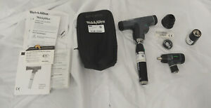 Welch Allyn Panoptic Ophthalmoscope W Lithium ion Handle Soft Case New 1