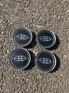Full Set Of 4 1979 1985 Buick Riviera Oem Wheel Center Caps Wire Hubcaps