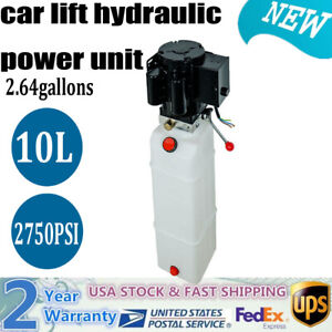 220v Car Lift Hydraulic Power 2 2 Kw 10l 2 64gallons Hydraulic Power Unit Pump