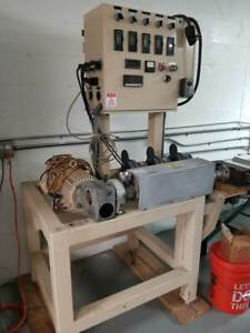 1 24 To 1 Plastic Extruder Used lab Line Or Educational Use Low Hours
