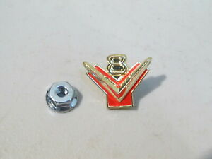 New 1955 1956 Ford Fairlane Thunderbird V8 Glove Box Emblem