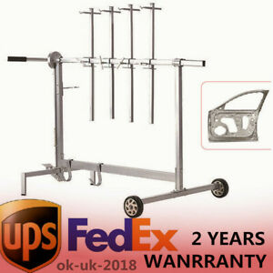 Automotive Spray Painting Rack Stand Auto Body Shop Paint Booth Hood Parts Us