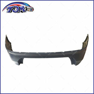 New Bumper Cover Rear For Ford Fusion 2013 2016 Fo1100693 Ds7z17k835aaptm
